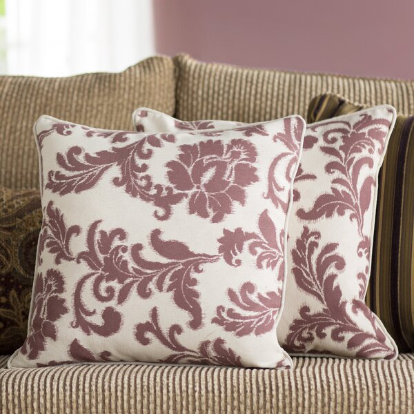 Seagle 100% Cotton Throw Pillow (Set of 2) by Darby Home Co